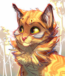 Firestar by maryvirgin