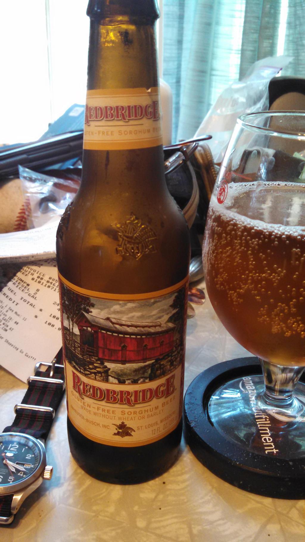 Redbridge Gluten Free Sorghum Beer Redbridge Gluten Free Sorghum Beerby Swen Swenson