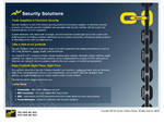 Security Solutions Website