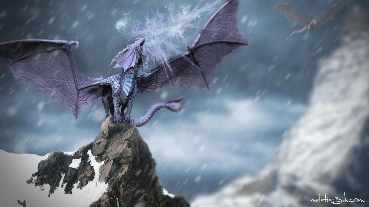 เดินเลี้ยวซ้ายซ้ายแล้วขวาขวา Ice_dragon_by_meletis-d50z9zt