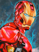 Iron Man by Meletis