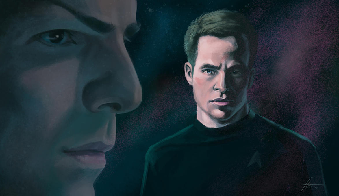 Spock-Kirk by Alex-JD-Black