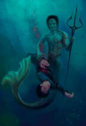 Star Trek. A mermaid in a Cardassian way by Alex-JD-Black