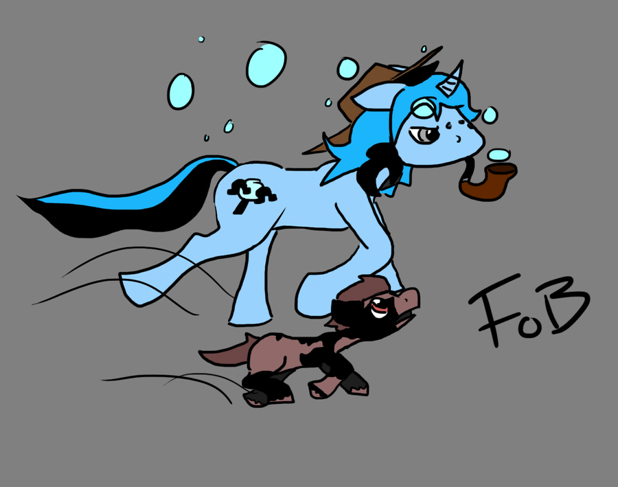 - mlp__oc_keen_eyes_and_colt_by_foreignobjct-d5c4t89