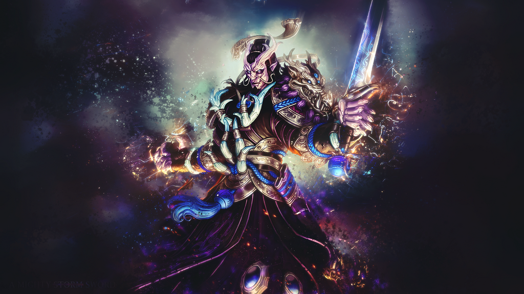 Ao Kuang - The Gathering Storm by Mc-Smack on DeviantArt