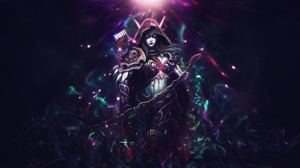 image World of warcraft undead bones an night elf