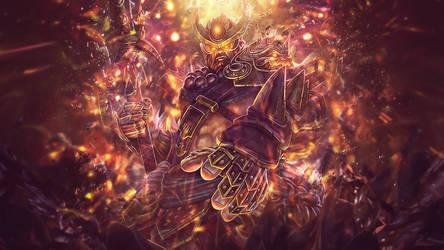 Heavenly Warlord Sun Wukong Smite by SpiritAJ