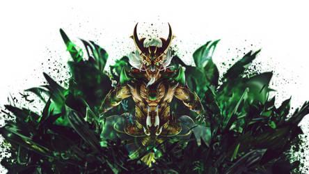 Ao Kuang Dragon King Smite by SpiritAJ