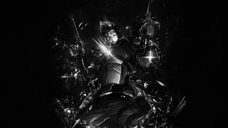 Apollo Elite Agent Smite Black and White by SpiritAJ