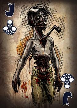 Zombie Card Deck - Jack