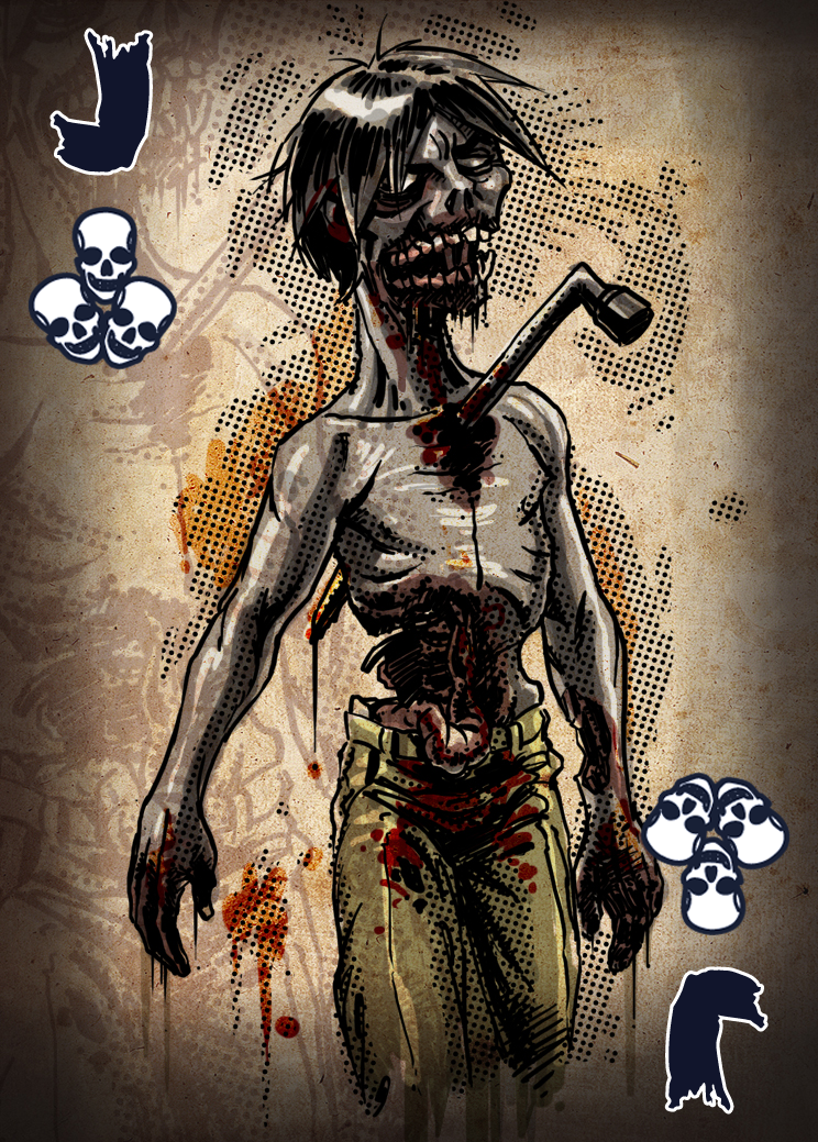 Zombie card deck jack by ilinamorato on deviantart for Zombie balcony