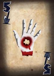Zombie Card Deck - Five