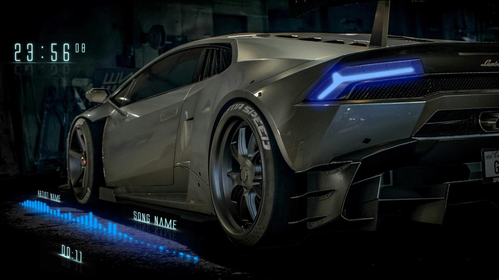 Neon Lamborghini by 99villages on DeviantArt