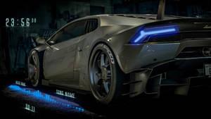 Neon Lamborghini
