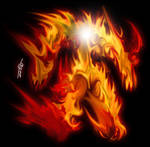 ELVERON.ART: Fire Elemental