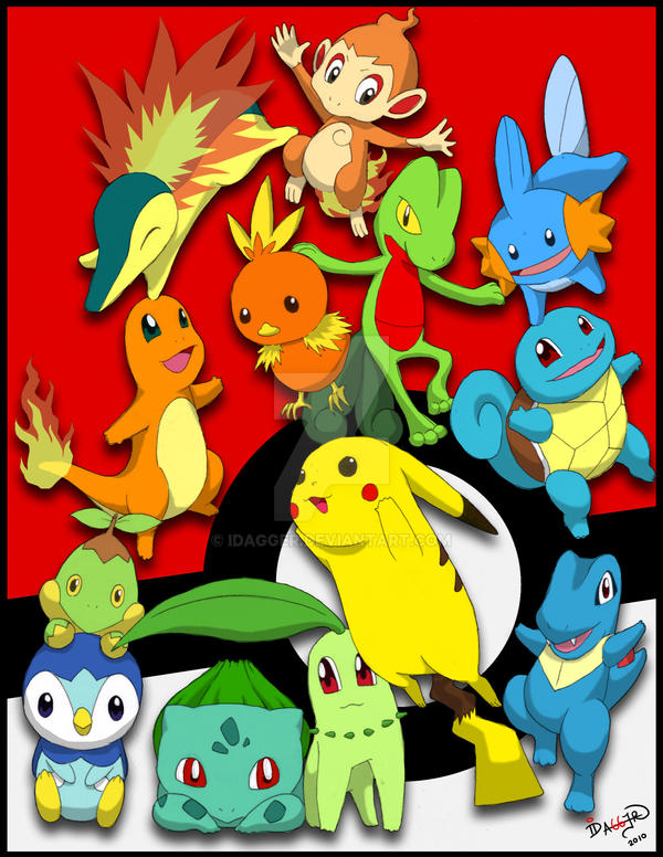pokemon print by idagger