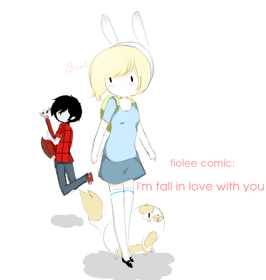 Anime Characters You Fall In Love With : Fiolee comic i m fall in love with you by