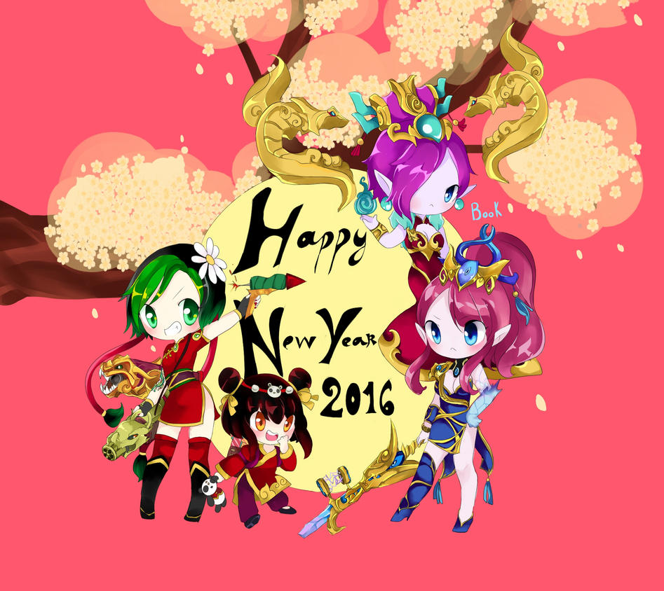 happy new year 2016 by blossomlikereadbook