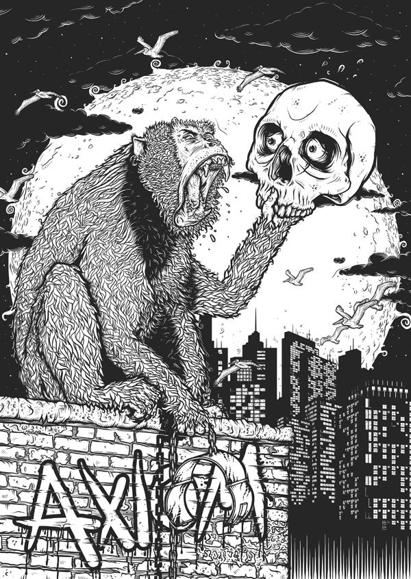 MONKEYS WRATH by IamAxiom