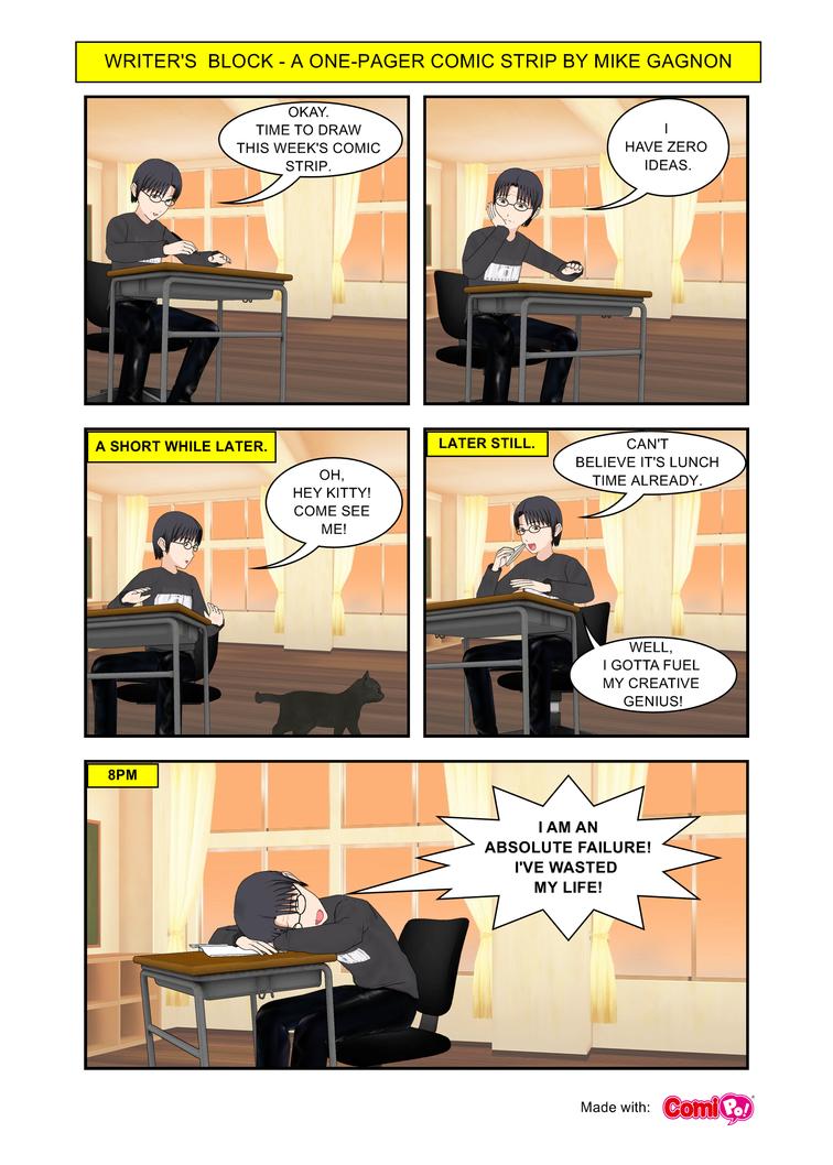 Writersblock 001 by mikegagnon
