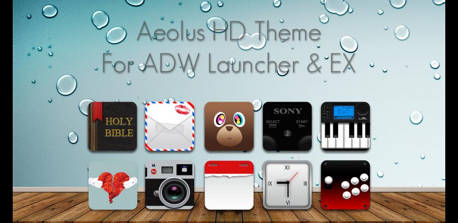 Aeolus HD Theme Pack by Raadius