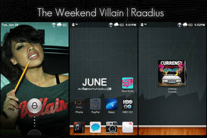 The Weekend Villain by Raadius