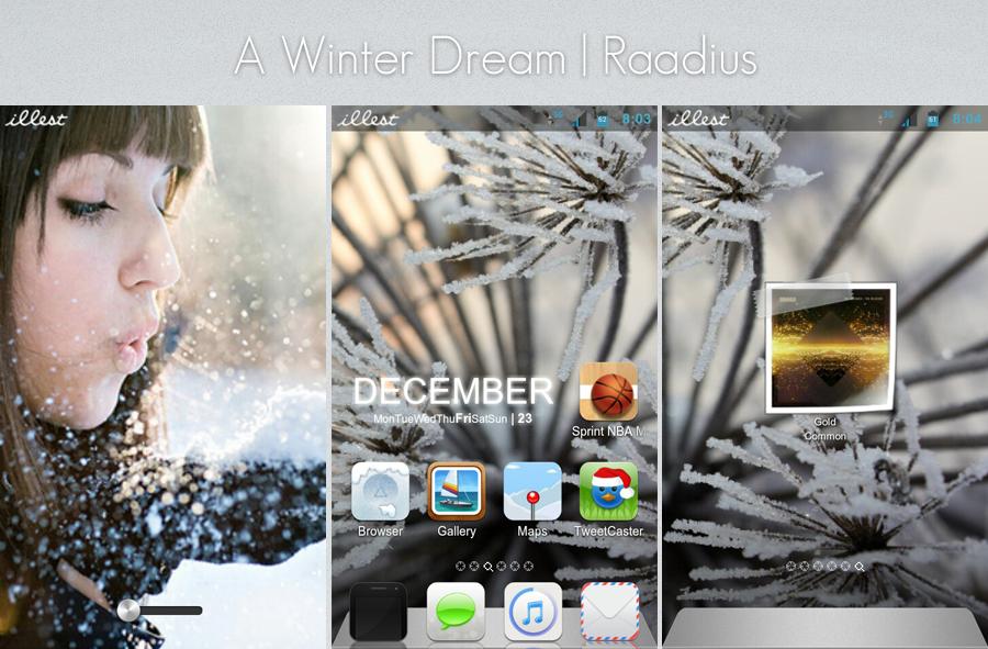 A Winter Dream by Raadius