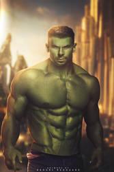 Hulk by NaouriRedouane1998
