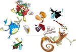 Rayman and Friends Get Ready for an Ass Whoopin'