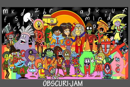 Obscuri-Jam: People of Letters
