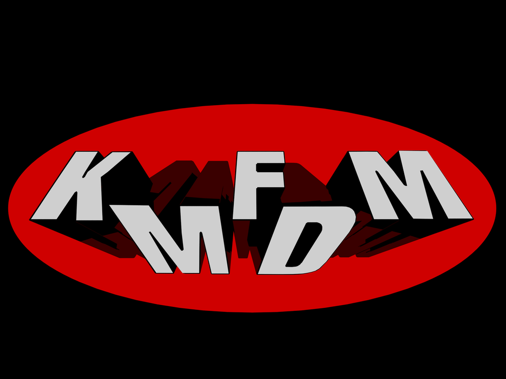kmfdm logo made in 3ds max 2013 x64 by hydatidosis on