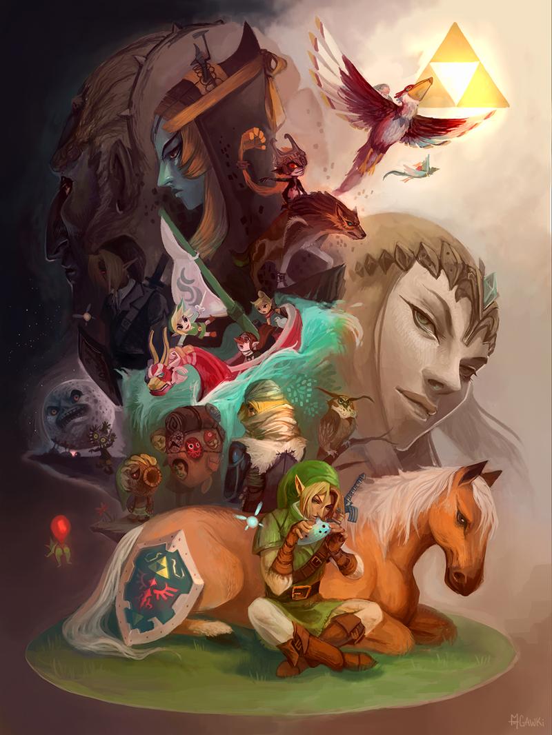 Zelda Collage by gawki
