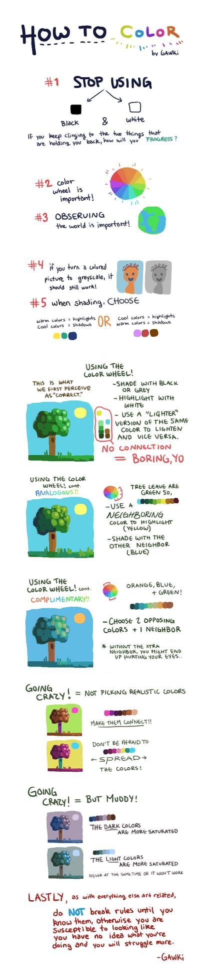 Coloring Tutorial by gawki