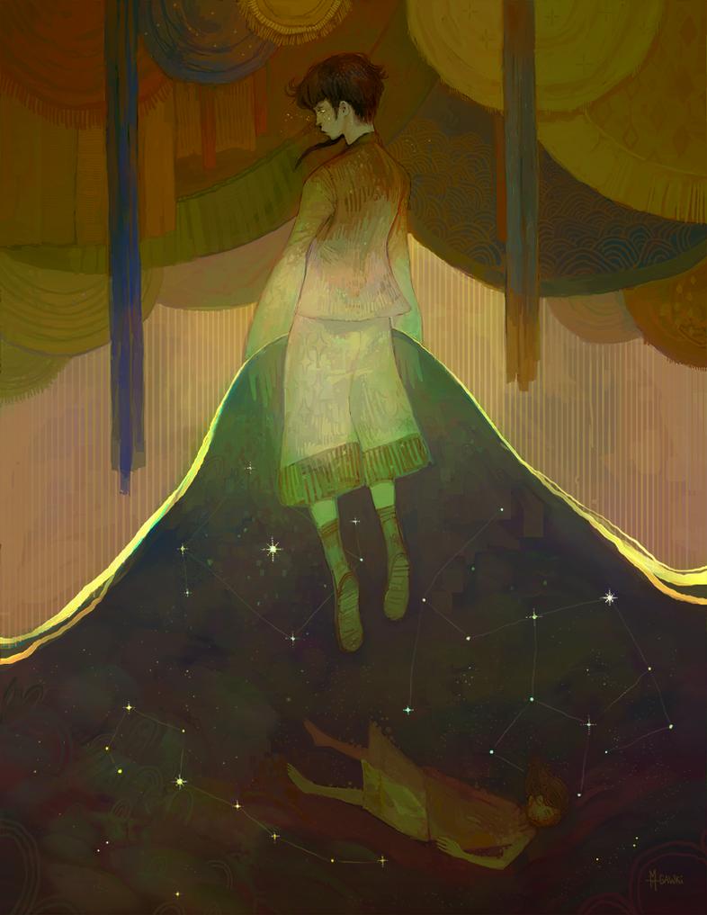 Fallen Star Weaver by gawki