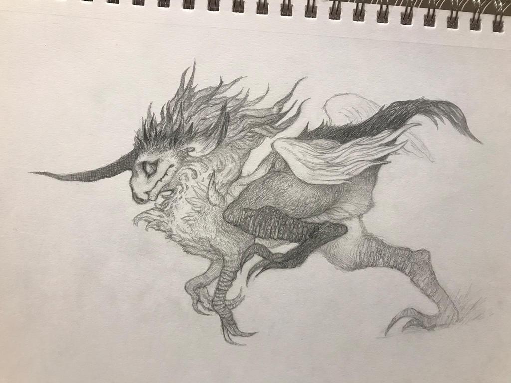 Raptorcorn  by gawki