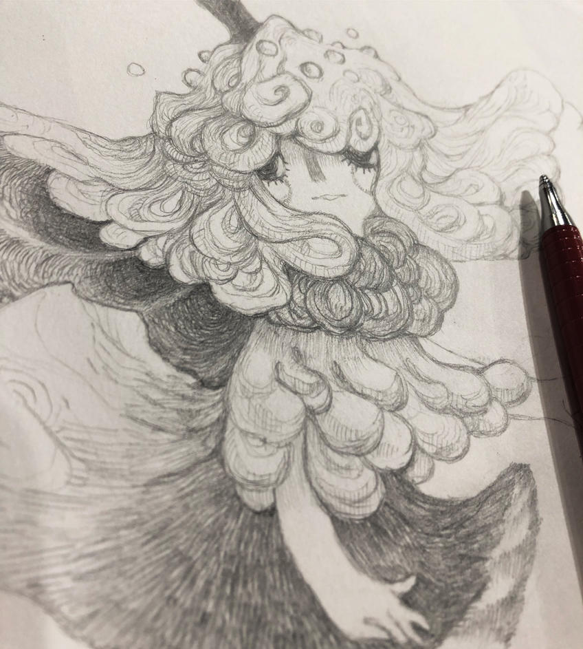 Mushy princess (wip) by gawki