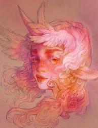 Dalya  (colored version) by gawki