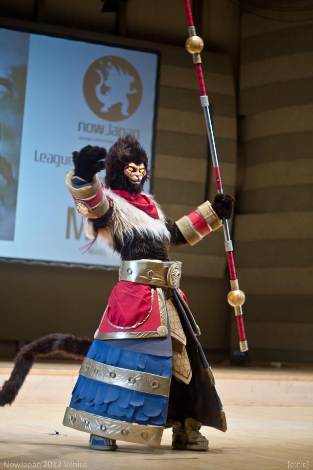 Wukong on stage by FoxTailCosplay