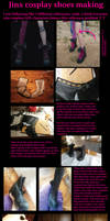 Jinx shoes vip/tutorial by FoxTailCosplay