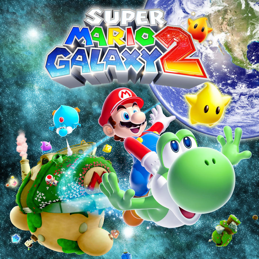 Super Mario Galaxy 2 Wallpaper By Candido1225 On Deviantart