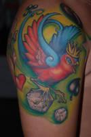 swallow tattoo by larvart