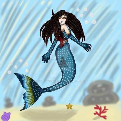 Original Concept Character: The Meranha by KittyGoku