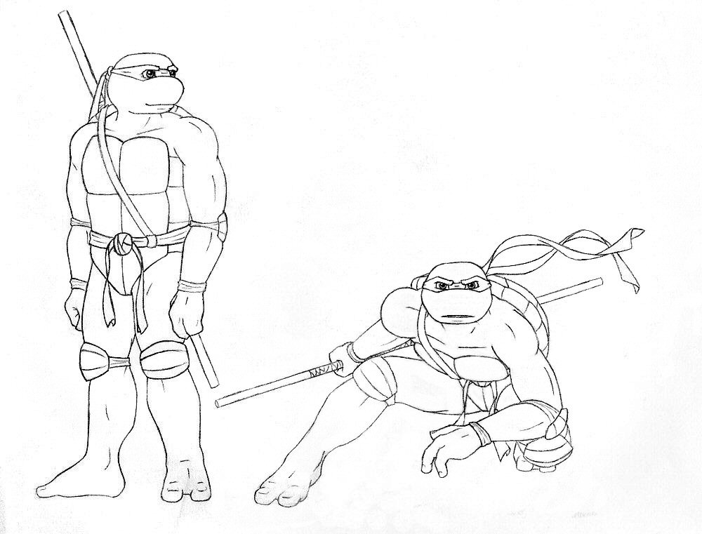 Tmnt Leonardo Coloring Pages Kidsnfuncom Coloring Pages Of Ninja