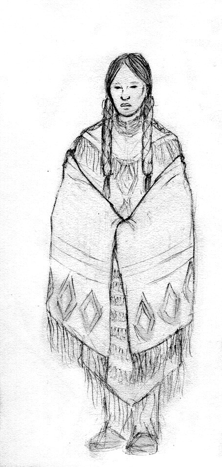 Native American Woman by dymira128 on DeviantArt