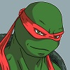 TMNT Raphael Icon by dymira128