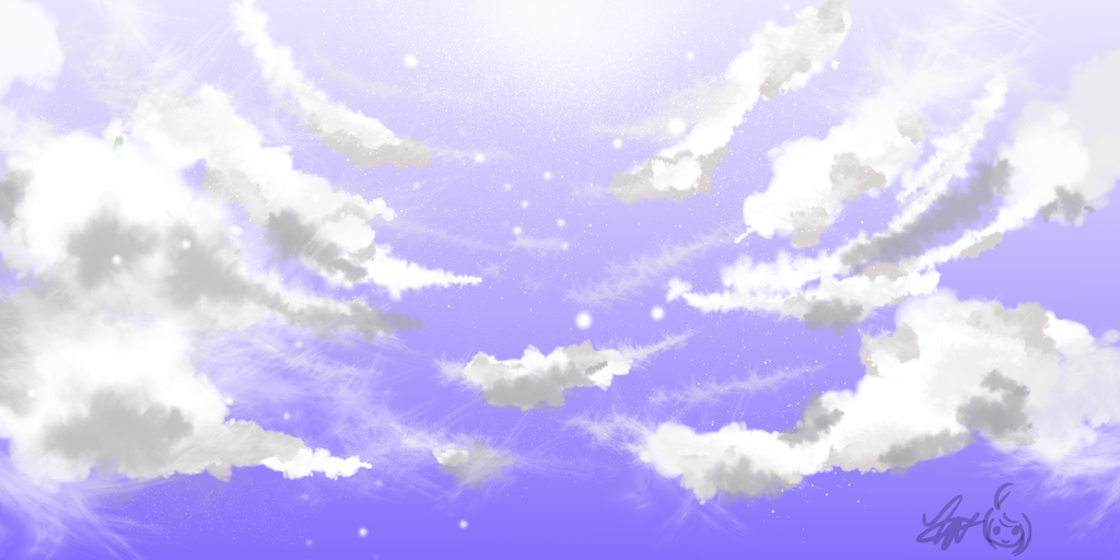 Overhead clouds by dreamstream9