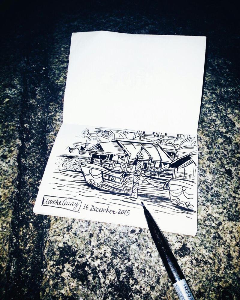 Clarke Quay by dreamstream9