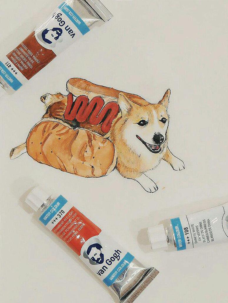 Hot Dog by dreamstream9