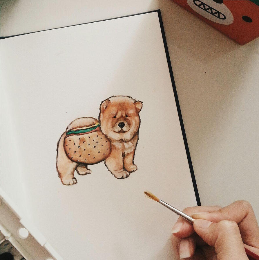 Chow Chow by dreamstream9