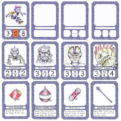 The Next Board Game P2 Cards by DerSkizzierer